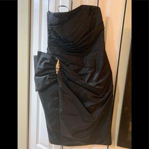 Vintage Black A.J. Bari dress